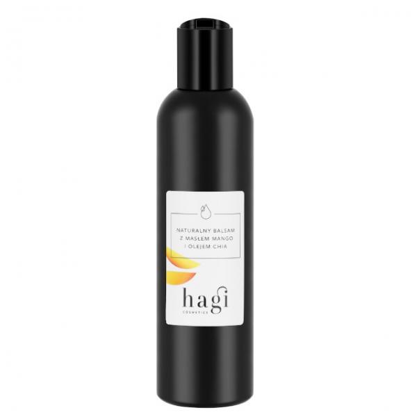 Naturalny balsam z masłem mango i olejem chia Hagi