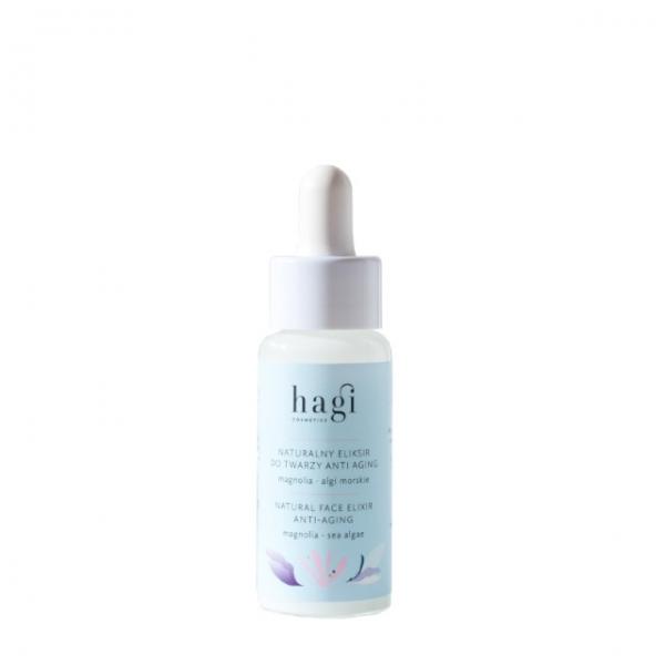 Naturalny eliksir do twarzy anti-aging Hagi