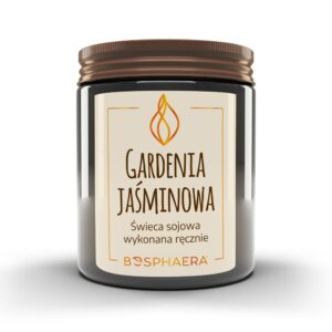 Świeca sojowa Gardenia Jaśminowa Bosphaera