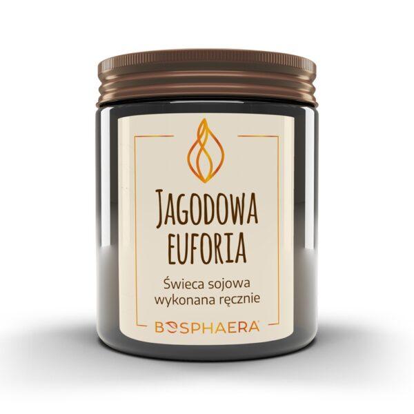 Świeca sojowa Jagodowa Euforia Bosphaera